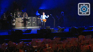 aul McCartney en concierto de mayo de 2011 en Lima